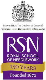 Royal School of Needlework logo