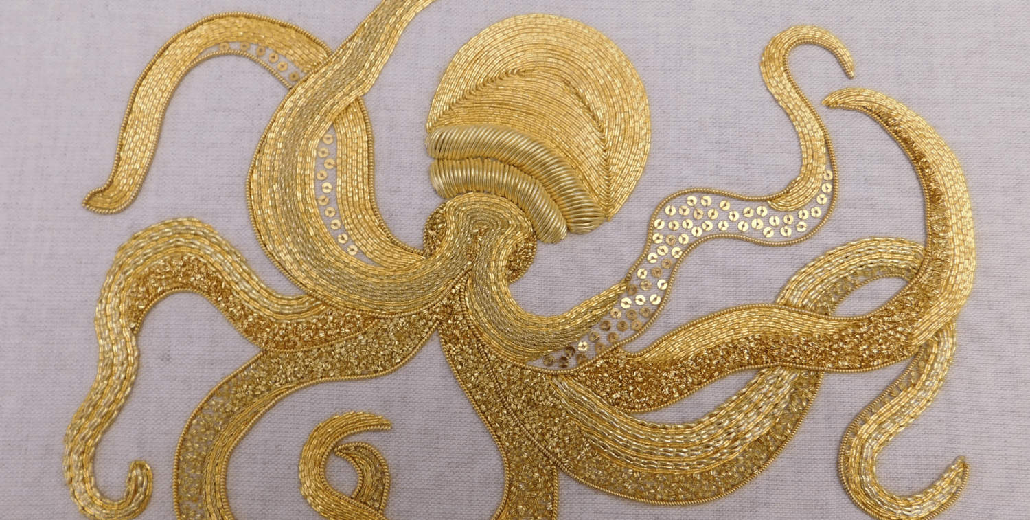 RSN goldwork technique courses
